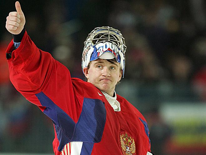 Евгений Набоков в составе сборной России
