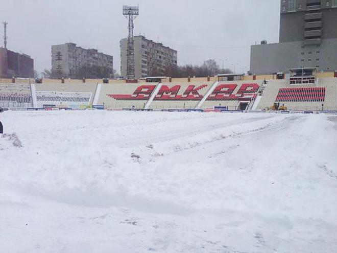 18 октября. 2014 года. Стадион в Перми
