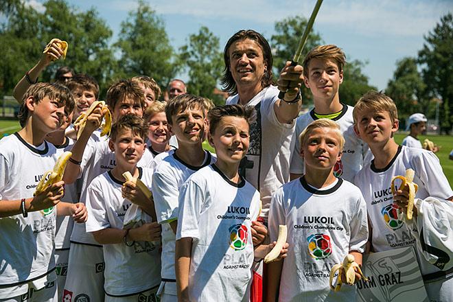 Детский Кубок чемпионов «ЛУКОЙЛ»: расизму — нет, счастью — да