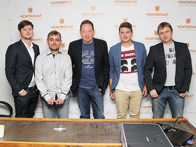 Леонид Слуцкий и коллектив «Чемпионата»