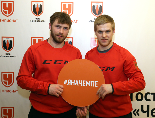 Артём Лукоянов и Фёдор Малыхин в гостях у «Чемпионата»