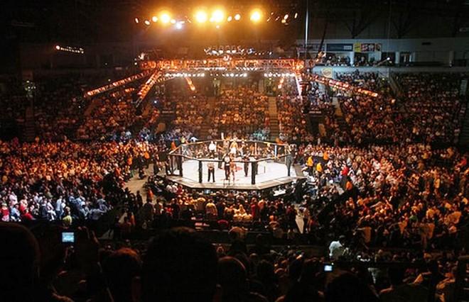 Один из турниров UFC