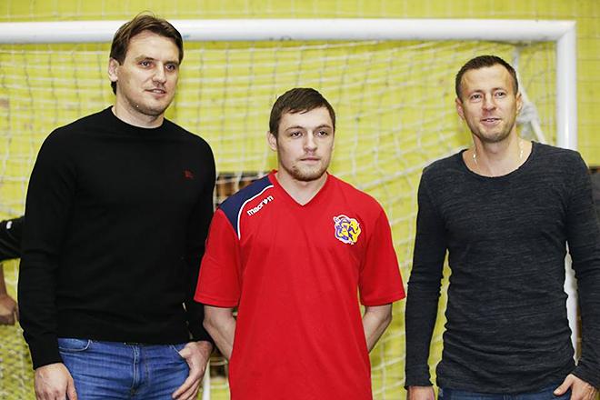 Фотография на память с Дмитрием Булыкиным и Андреем Карякой