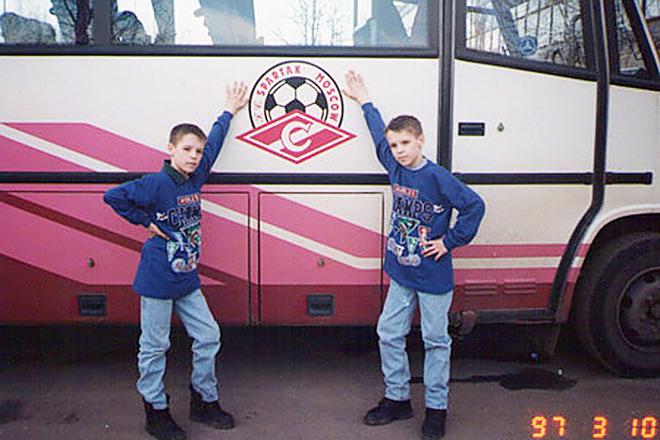 Дмитрий и Кирилл Комбаровы