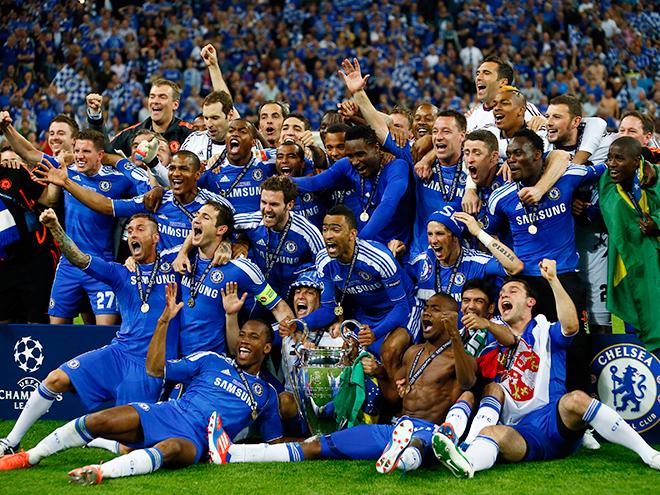 «Челси» после финала Лиги чемпионов 2012 года