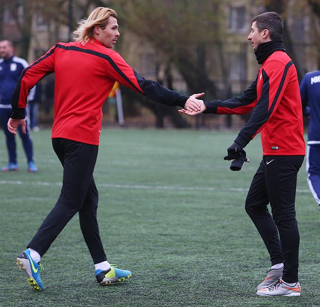 Евгений Поляков и Евгений Алдонин