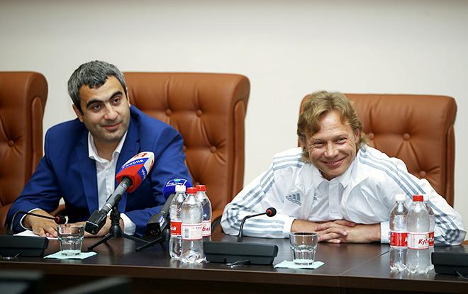 Валерий Оганесян и Валерий Карпин