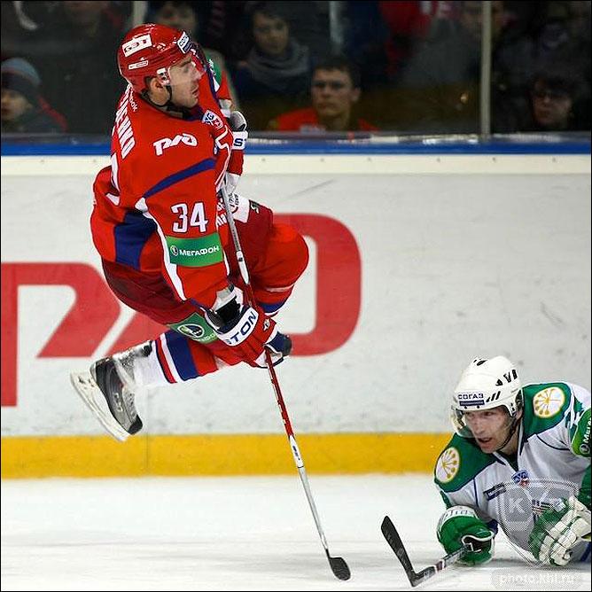 20.10.2010. КХЛ. Локомотив - Салават Юлаев - 1:6. Фото 02.