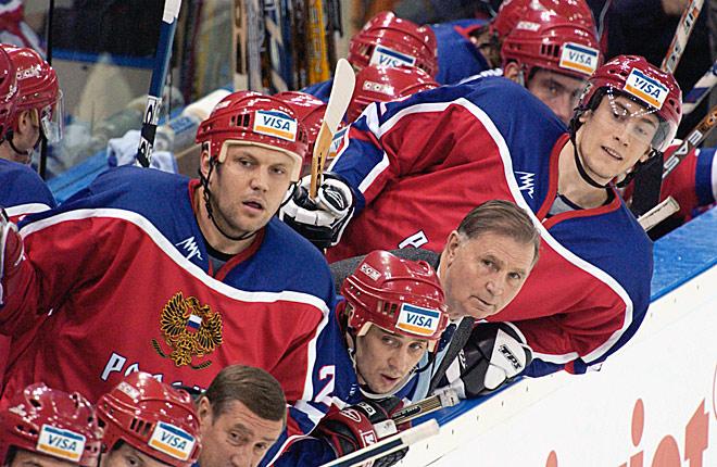 Виктор Васильевич Тихонов в сборной России
