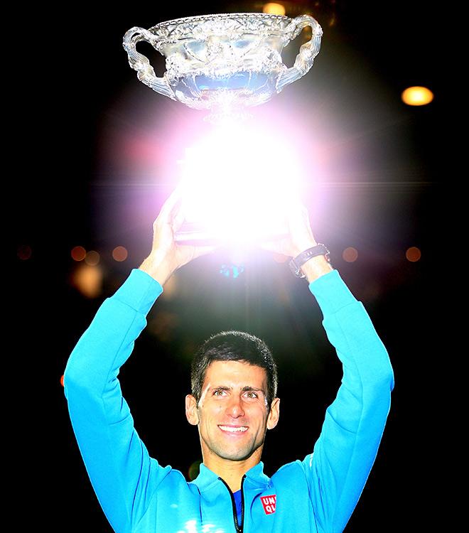 Джокович установил рекорд Australian Open