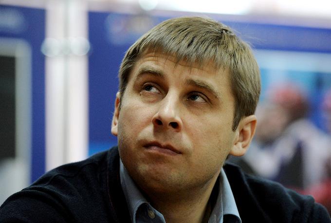 Главный тренер юниорской сборной России Павел Баулин
