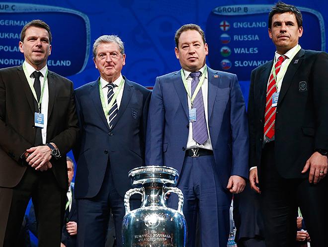 Леонид Слуцкий с соперниками по группе