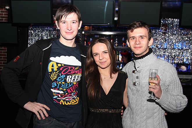 Михаил Тяпков, Галина Козлова и Сергей Титов