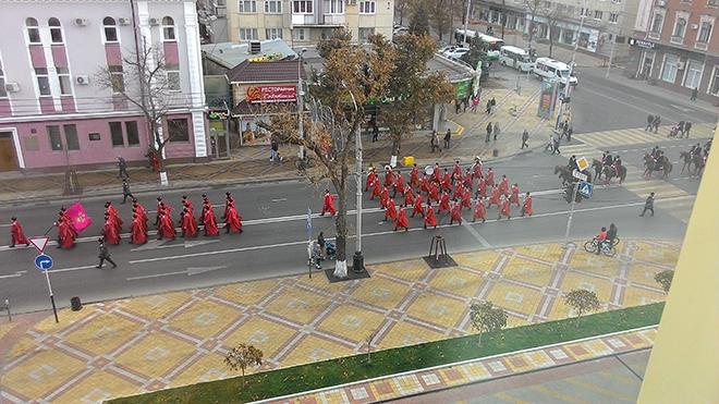 Казачий парад