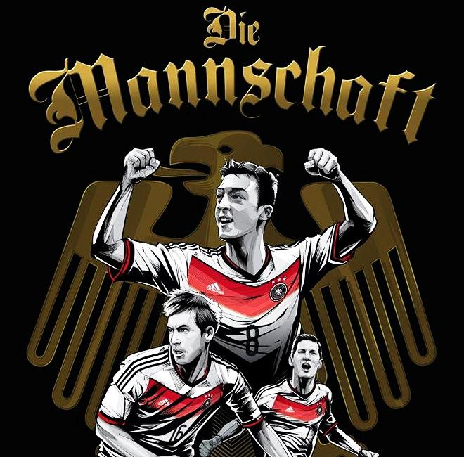 Сборная Германии — «Немецкая Машина»