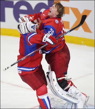 Дмитрий Шикин и Владимир Тарасенко. МЧМ-2011