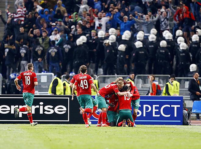 «Локомотив» вышел в плей-офф Лиги Европы