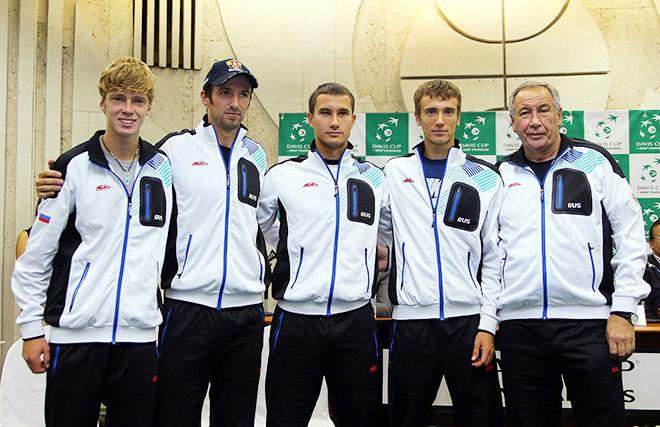 Россияне узнали соперников в Кубке Дэвиса-2015