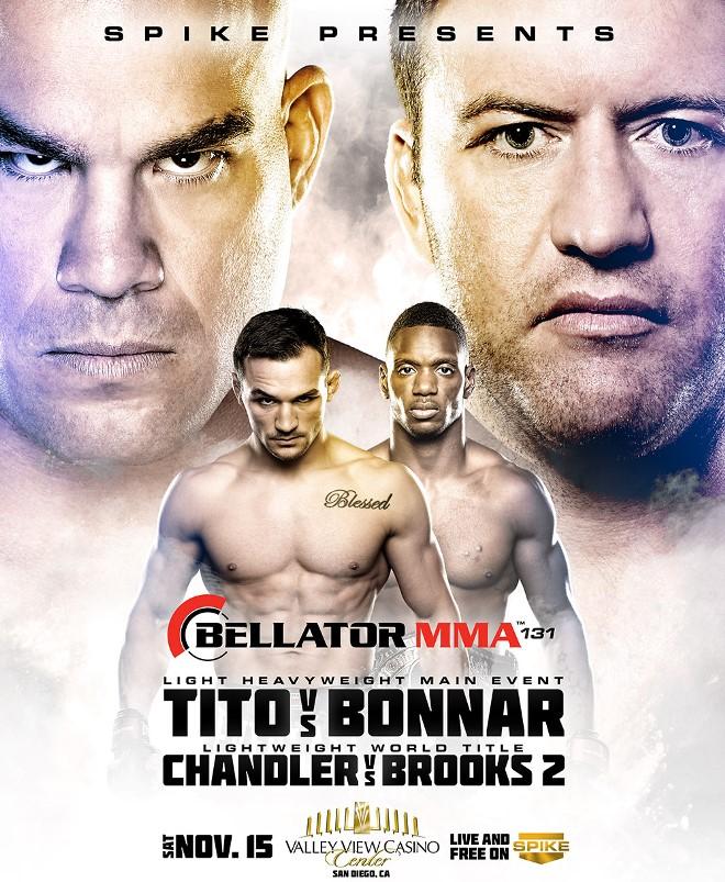Постер к турниру Bellator 131