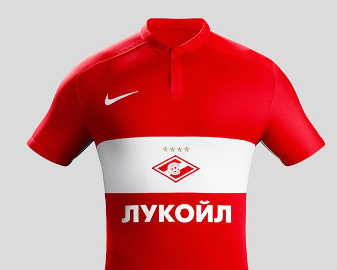 Новая форма «Спартака»