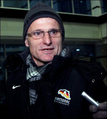 Главный тренер сборной Германии Эрнст Хофнер