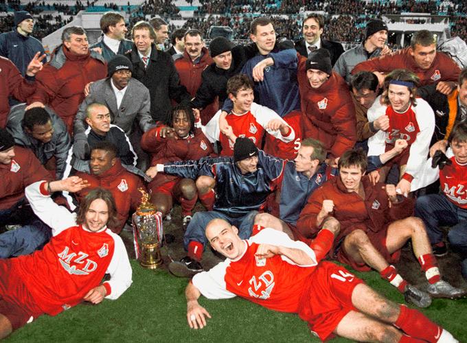 Локомотив - чемпион России 2002