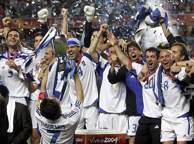 4 июля 2004 года в финале чемпионата Европы в Лиссабоне хозяева турнира португальцы со счётом 0:1 уступили грекам
