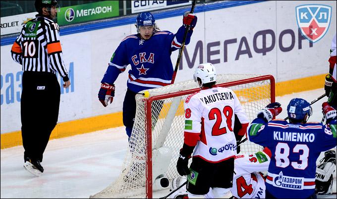 28 января 2013 года. Санкт-Петербург. Регулярный чемпионат КХЛ. СКА —