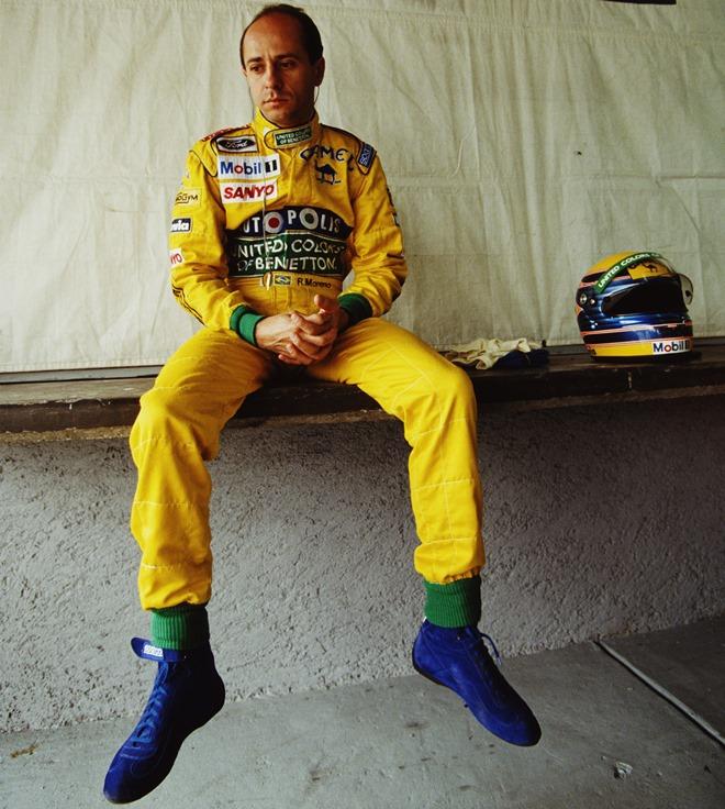 Роберто Морено в 1991 году