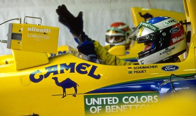 Шумахер быстро освоился на месте Морено