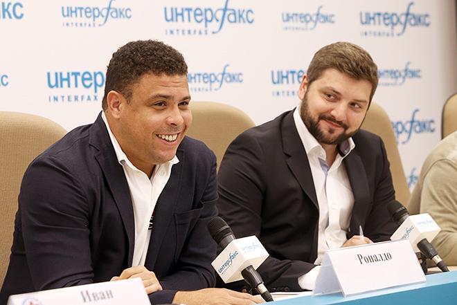 Роналдо и Дмитрий Сергеев