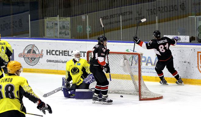 «Челмет» победил «Сарыарку» и на целых полчаса оказался в зоне плей-офф