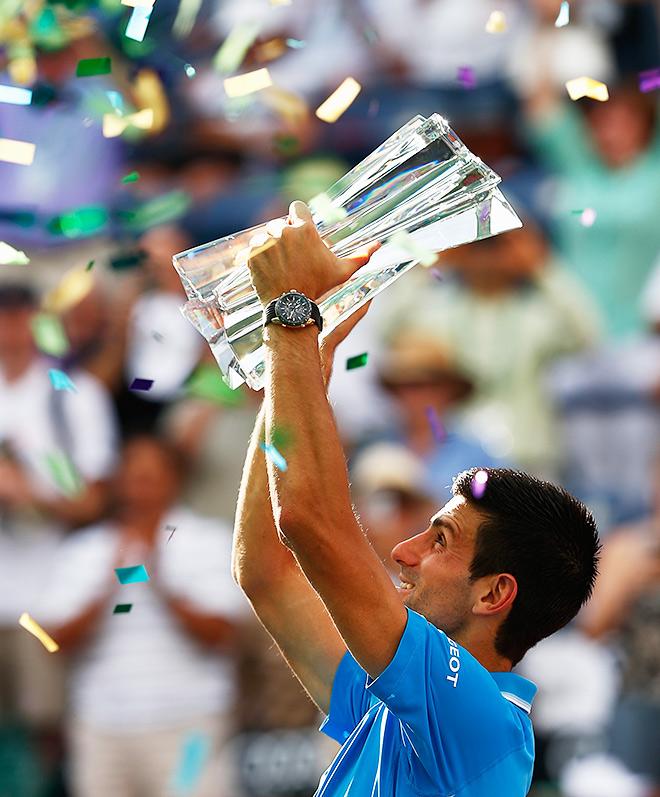 Джокович вновь обыграл Федерера в финале Индиан-Уэллса