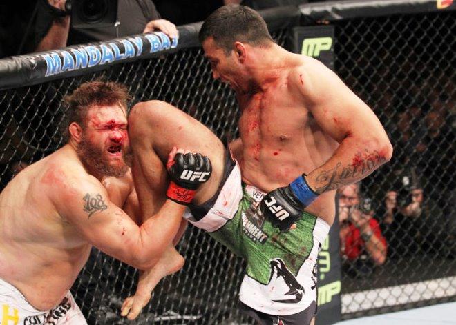 Фабрисью Вердум к бою за временный титул чемпиона UFC в тяжёлом весе готов