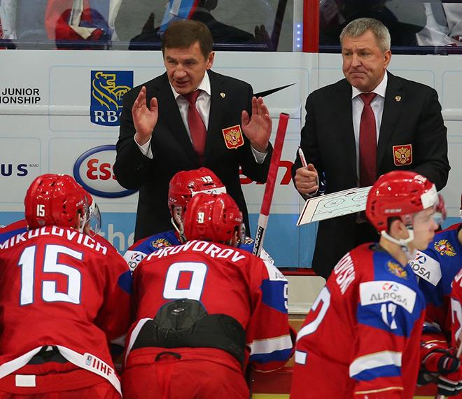 Главный тренер «молодёжки» Валерий Брагин