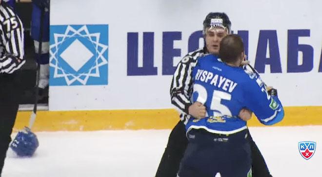 Рыспаев после драки с Беловым и Брынцевым