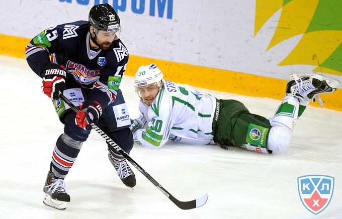 11 апреля 2014 года. Магнитогорск. Плей-офф КХЛ. 1/2 финала. Матч № 5.