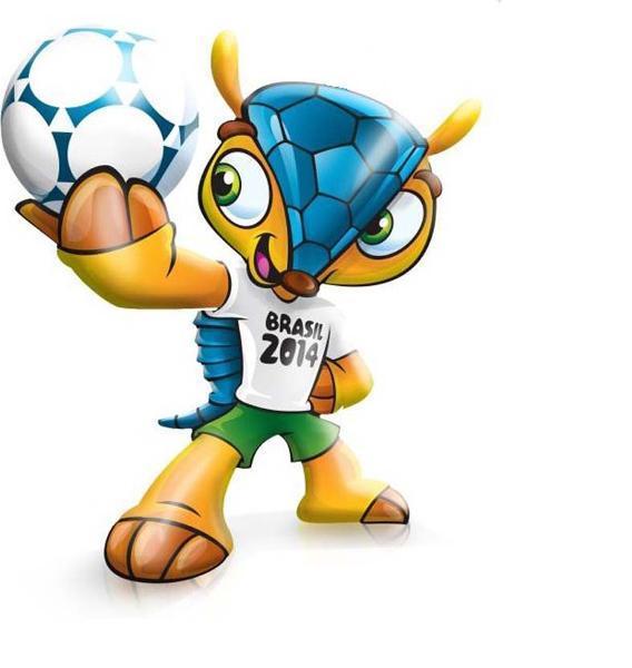 ФИФА утвердила броненосца в качестве талисмана чемпионата мира — 2014