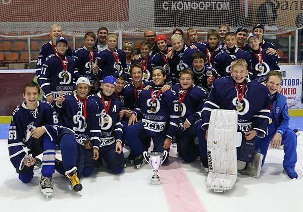 «Динамо-2002» выиграло мемориал В. Крутова