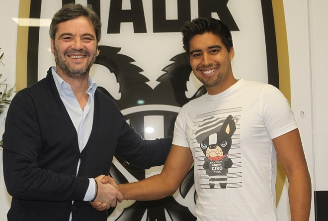 ПАОК объявил о подписании контракта с Нобоа