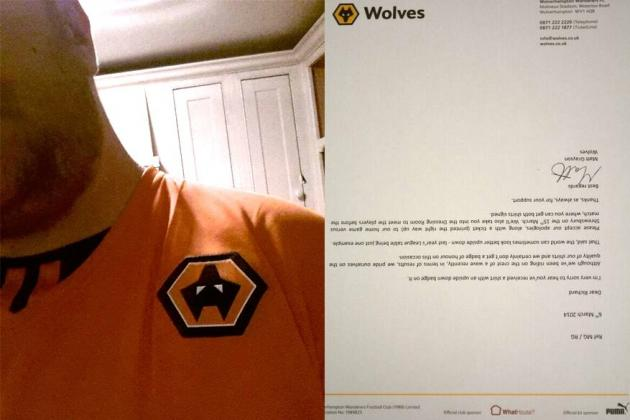 Вулверхэмптон ответил шуткой на жалобу фаната на купленную футболку с перевернутой эмблемой клуба - изображение 1