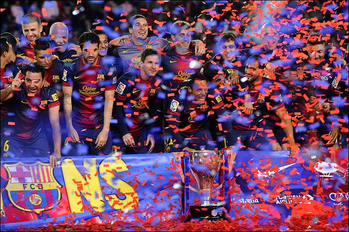 """Барселона"" гарантировала себе золотые медали за три тура до конца чемпионата"