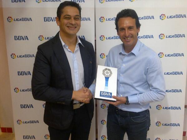 Эмери - лучший тренер чемпионата Испании в марте (фото)
