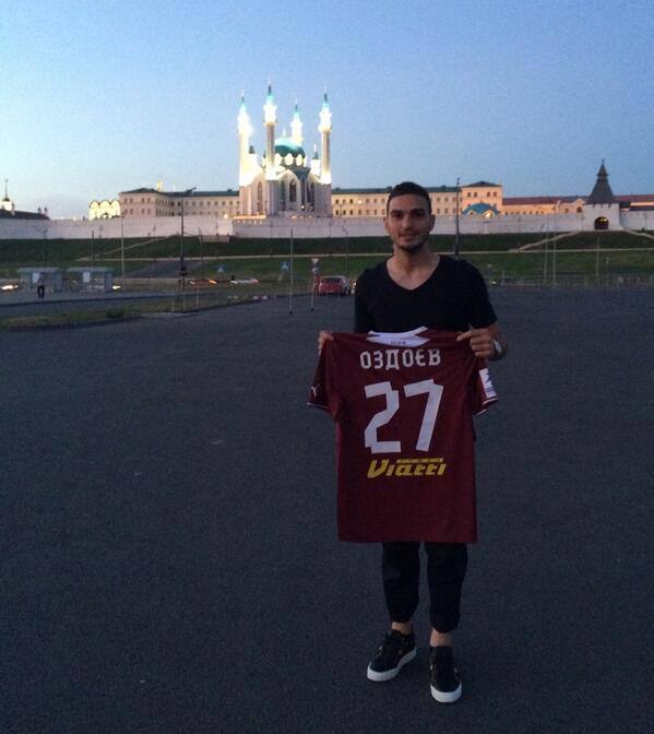 За «Рубин» Оздоев будет выступать под 27-м номером