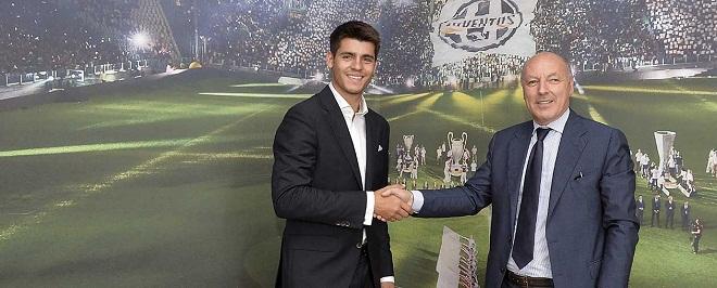 Мората перешёл в «Ювентус», «Реал» получит за нападающего € 20 млн