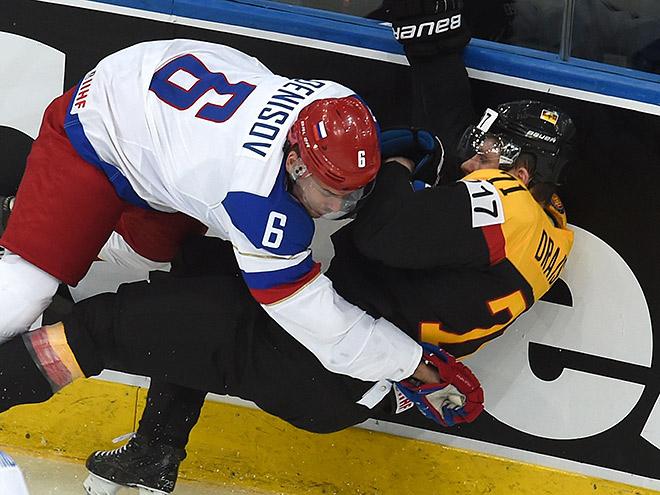 Хоккей. Чемпионат мира. Россия всухую обыграла Германию