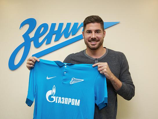 Хави Гарсия стал игроком «Зенита»