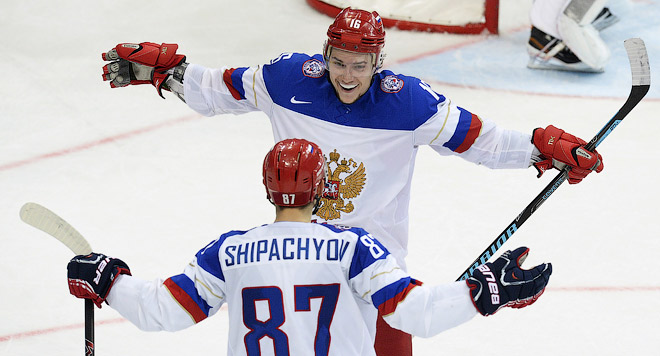 Хоккей. Чемпионат мира. Россия завершает групповой турнир со стопроцентным результатом