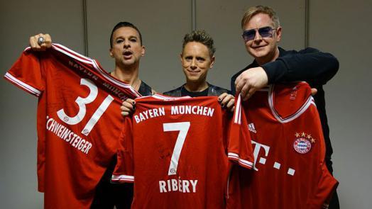 "Музыканты из Depeche Mode получили подарок от ""Баварии"""