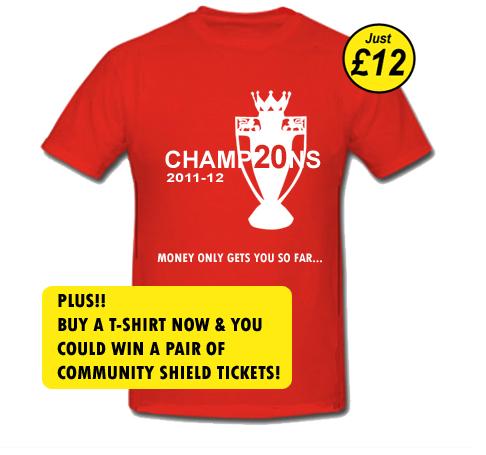 """Болельщики """"Манчестер Юнайтед"""" начали продажу чемпионских футболок"""